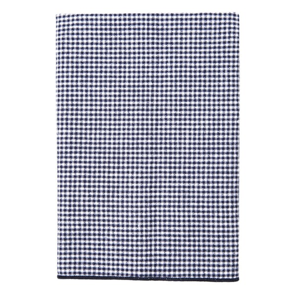 Cotton Check Seersucker Pocket Square