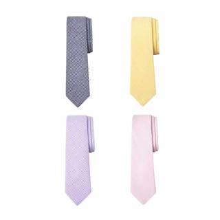 Men's Cotton Seersucker Check Tie