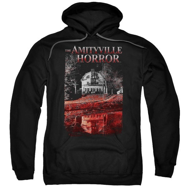 Amityville Horror/Cold Blood Adult Pull-Over Hoodie in Black