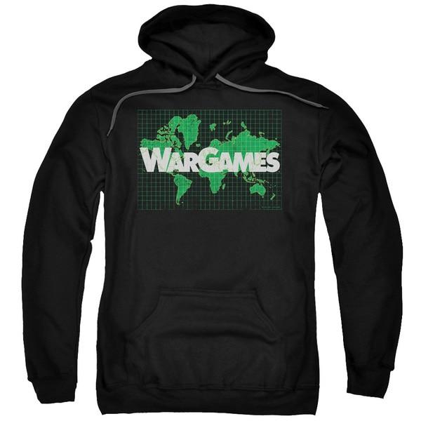 Wargames/Game Board Adult Pull-Over Hoodie in Black