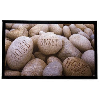 Home Fashion Designs Weaver Collection 'Home Sweet Home' Printed Indoor/Outdoor Non-slip Welcome Mat