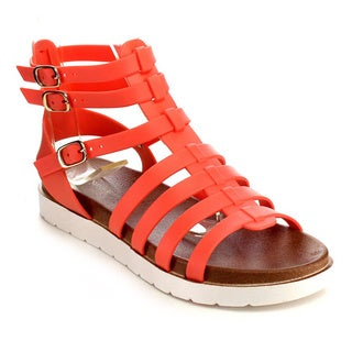Beston EB29 Women's Jelly Gladiator Sandals
