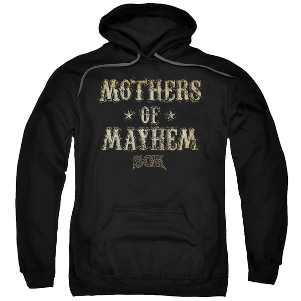 Sons Of Anarchy/Mothers Of Mayhem Adult Pull-Over Hoodie in Black
