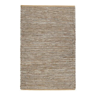 Jani Nia Leather Cotton and Jute Rug (8' x 10')