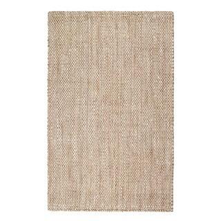 Jani Max Herringbone Weave Jute Rug (8' x 10')
