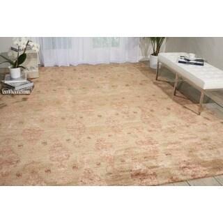 Nourison Silk Shadows Sand Rug (9'9 x 13'9)