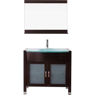 Virtu USA Ava 36-inch Single Bathroom Vanity Set