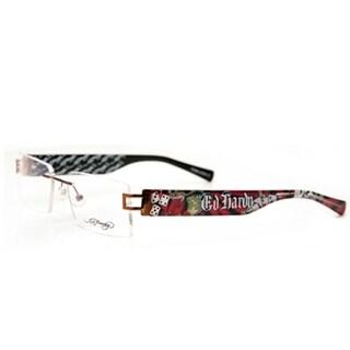 Ed Hardy EHL-807 Lite Designer Cocoa Eyeglasses