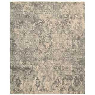 Nourison Silk Elements Mushroom Rug (9'9 x 13')