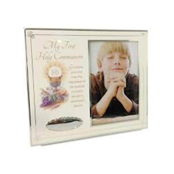 Elegance My First Communion Frame with Text