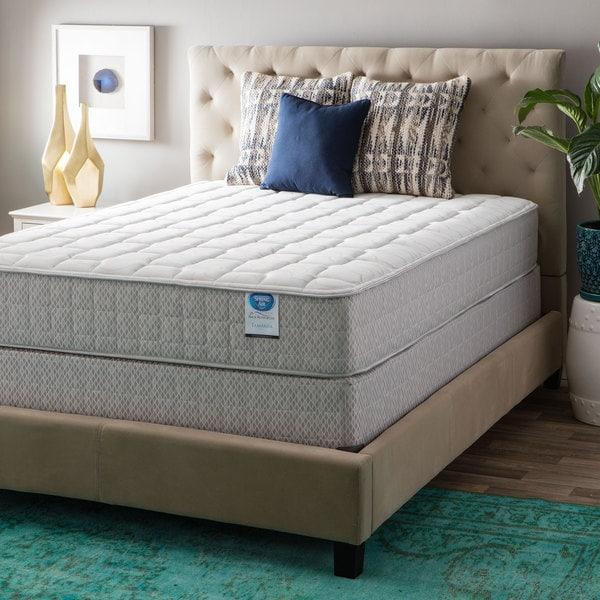 Spring Air Value Collection Tamarisk Queen-size Firm Mattress Set