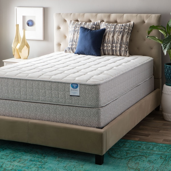 Spring Air Value Collection Tamarisk Full-size Firm Mattress Set