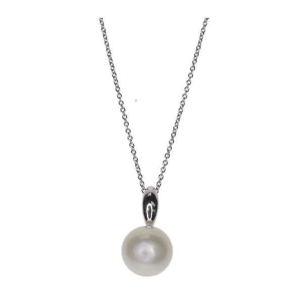 Kabella White Freshwater Pearl Sterling Silver Pendant