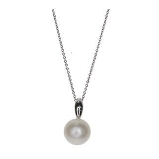 Kabella White Freshwater Pearl Sterling Silver Pendant