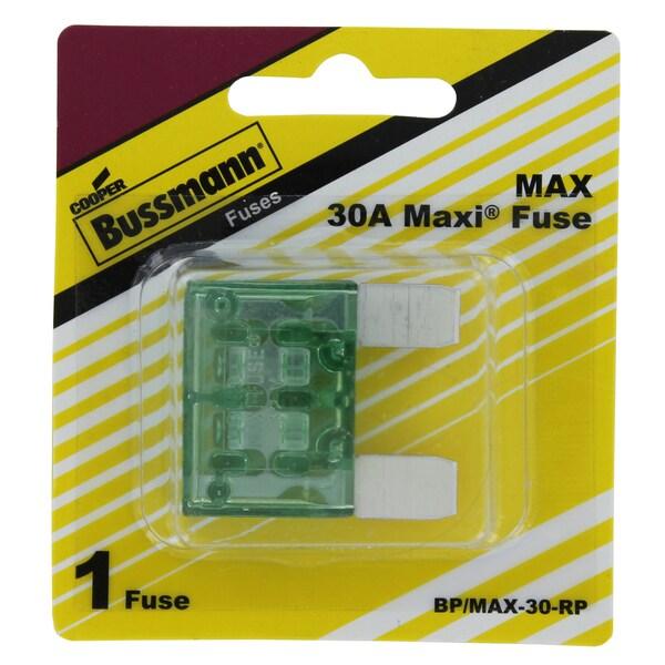 Bussman BP/MAX-30 RP 30 Amp Maxi Fuse