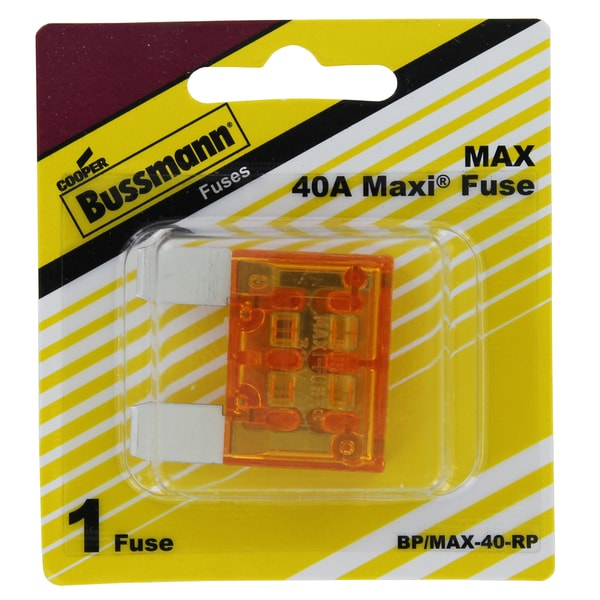 Bussman BP/MAX-40 RP 40 Amp Maxi Fuse