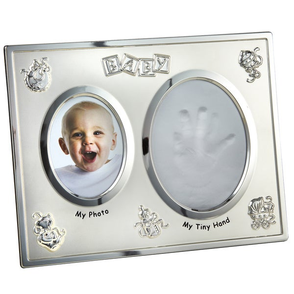 Elegance Baby Frame with Hand Print Opening
