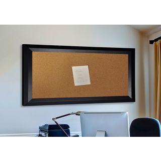 American Made Rayne Solid Black Angle Corkboard