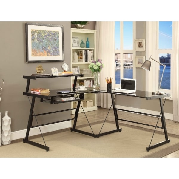 Picket House Bueller Desk in Black