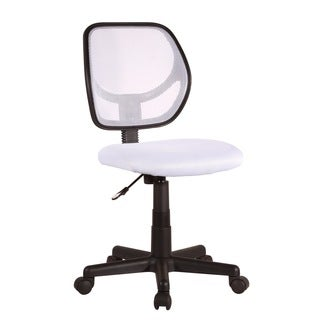 Milley White Office Task Chair