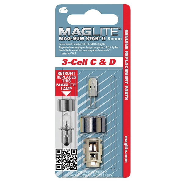Mag LMXA301 3 Cell Krypton Flashlight Replacement Bulb