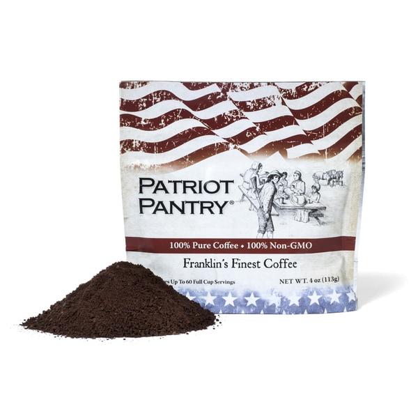 Franklin's Finest Survival Long-term Storage Colombian Coffee (60 Servings) 18707528