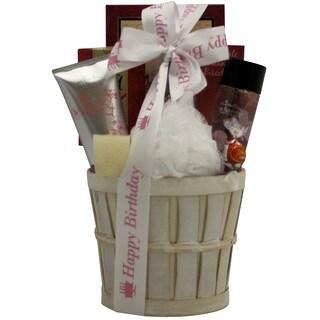 Cherry Blossom Spa Retreat Bath and Body Birthday Gift Basket