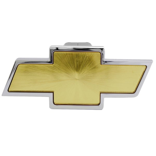 Pilot Automotive Chevrolet Chrome with Amber Centre Hitch Cover