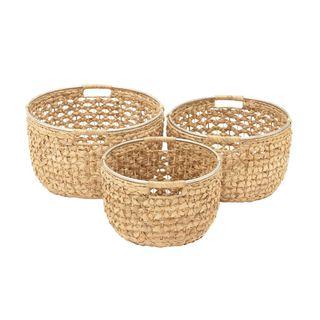 Chic (Set of 3) Sea Grass Basket