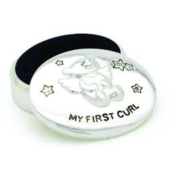 Elegance Teddy Bear My First Curl Box