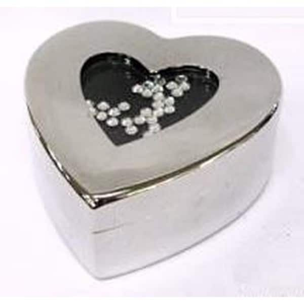 Elegance Heart Shaped Jewelry Box
