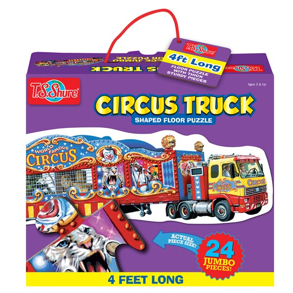 TS Shure Circus Train Jumbo Floor Puzzle