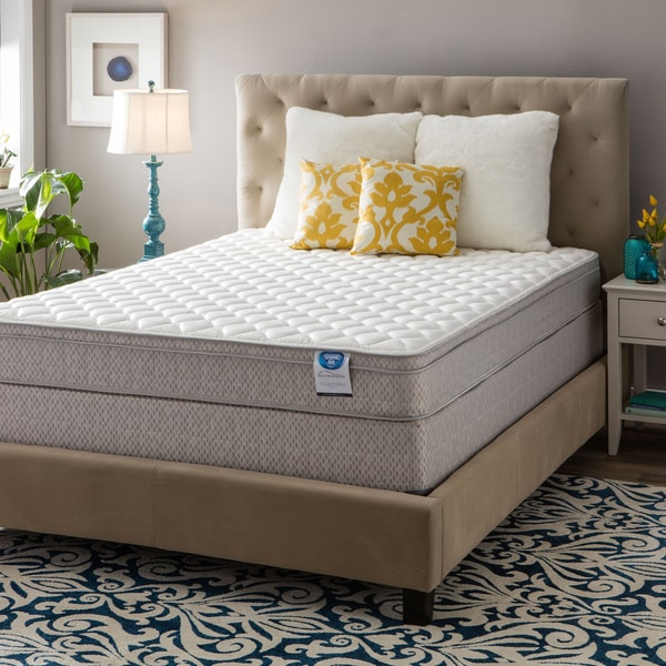 Spring Air Value Collection Coletero Cal King-size Euro Top Mattress Set