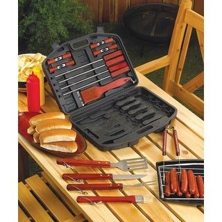 All-in-one 18-piece Barbecue Kit