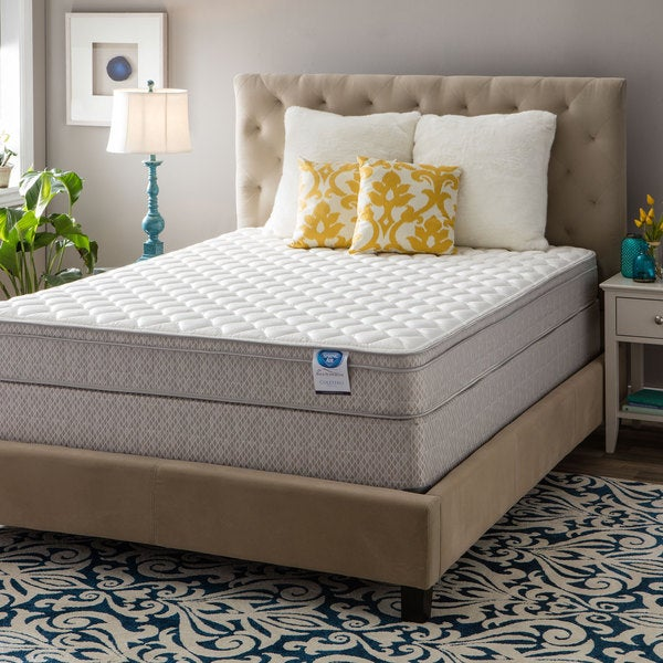 Spring Air Value Collection Coletero Queen-size Euro Top Mattress Set