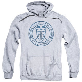 Power Rangers/Angel Grove Hs Adult Pull-Over Hoodie in Athletic Heather