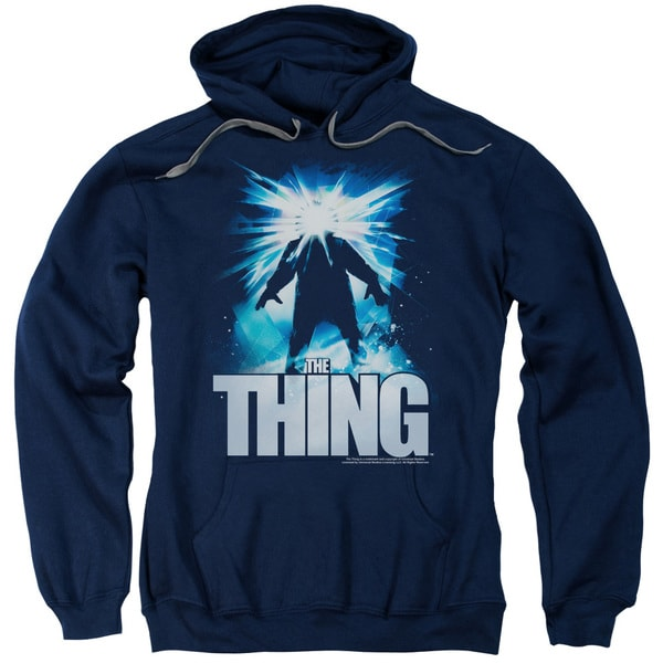 Thing/Ice Adult Pull-Over Hoodie in Navy