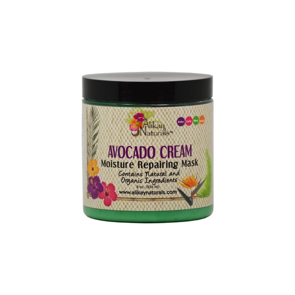 Alikay Naturals 8-ounce Avocado Cream Moisture Repairing Mask