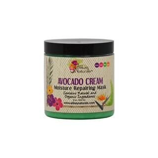 Alikay Naturals 8-ounce Scented Avocado Cream Moisture Repairing Mask