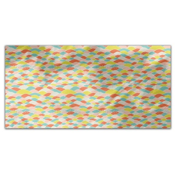 Wave Dimension Rectangle Tablecloth
