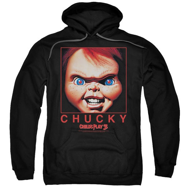 Childs Play/Chucky Squared Adult Pull-Over Hoodie in Black