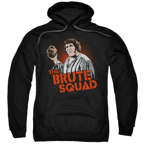 Pb/Brute Squad Adult Pull-Over Hoodie in Black