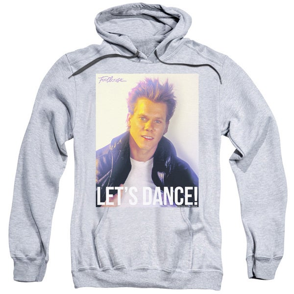 Footloose/Lets Dance Adult Pull-Over Hoodie in Athletic Heather
