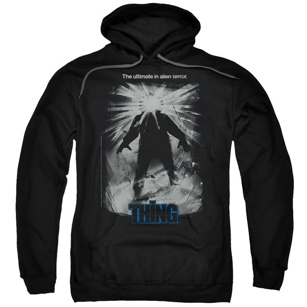 Thing/Shine Poster Adult Pull-Over Hoodie in Black