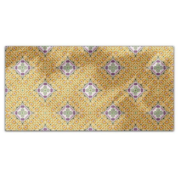 Tile Hypnosis Rectangle Tablecloth