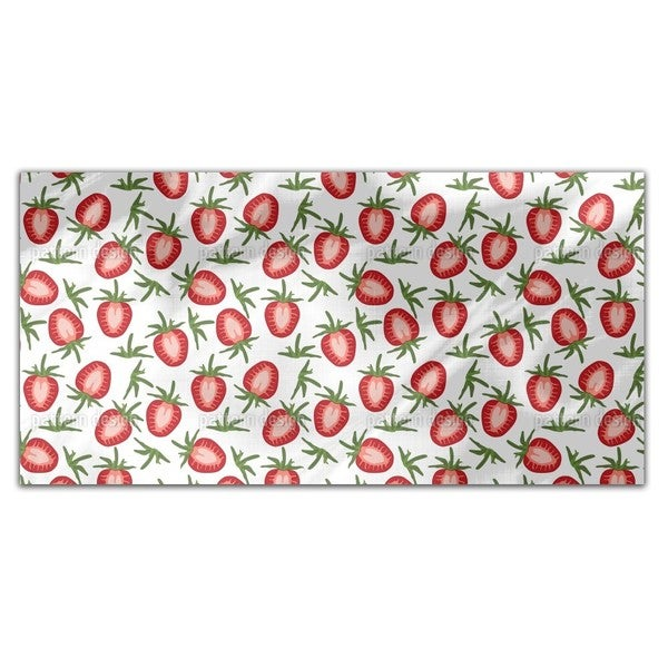 Sweet Strawberries Rectangle Tablecloth