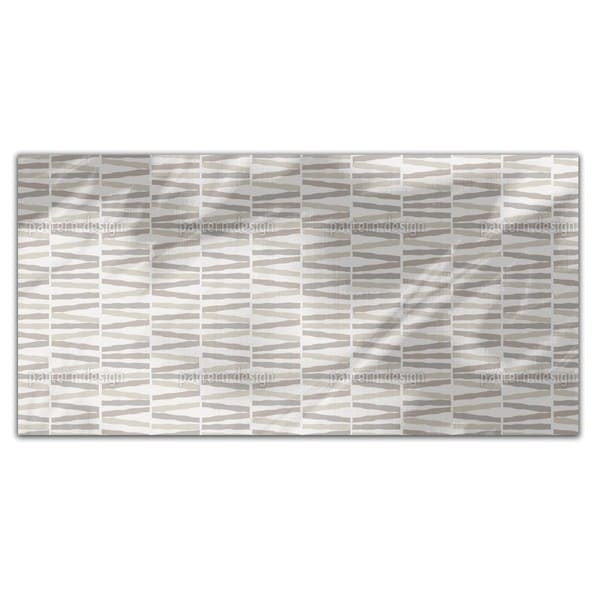 Stripes In The Desert Sand Rectangle Tablecloth