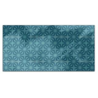 Stella Blue Rectangle Tablecloth