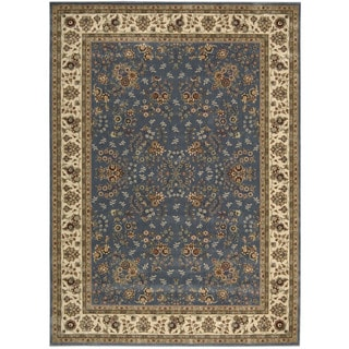 Nourison Persian Arts Light Blue Rug (7'9 x 10'10)