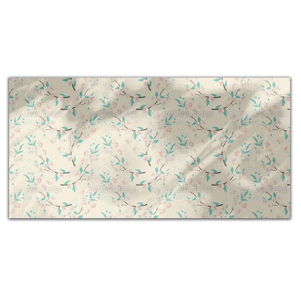 Spring In Japan Rectangle Tablecloth